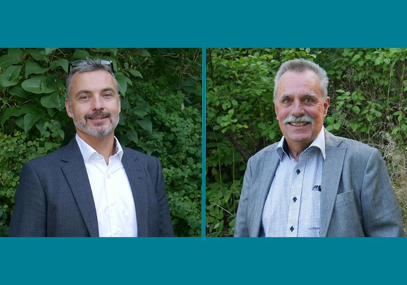 Profilbilder på Mikael Folkesson och Mats Gunnarsson
