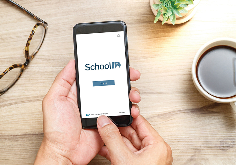 Mobile with SchoolID, a secure idp and school login